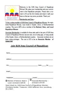 Membership form pg 2
