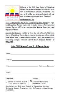 Membership form pg 2