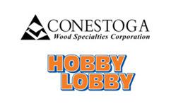 conestoga and hobby lobby logos