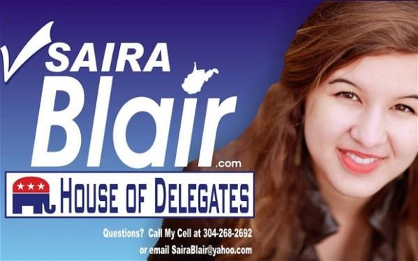 2014 WV -Saira Blair defeats incumbent