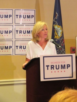 National Committeewoman Christine Toretti kicks off the Women for Trump Coalition